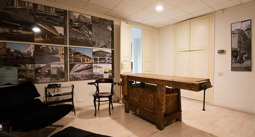 studio di architettura_ genova_ingresso