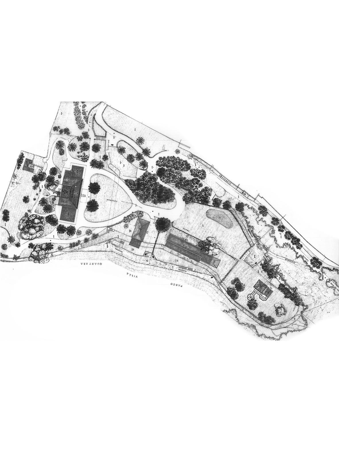 villa carrara_planimetria_masterplan